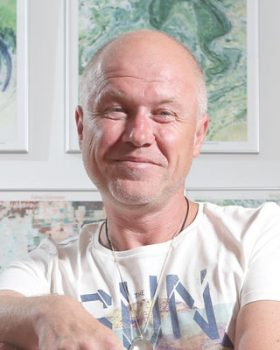 Libor Malý, ex-LMC, miliardáø, budhista, mecenáš, Praha, 27.8.2015,